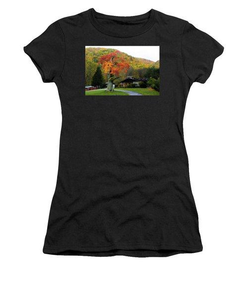 Fall Landscape Women's T-Shirt (Athletic Fit)