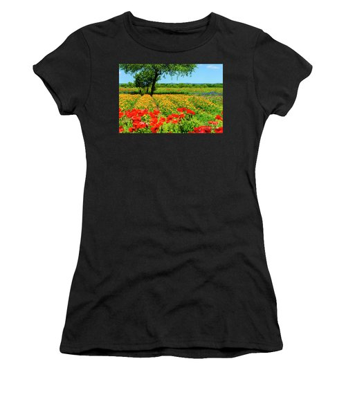 Hill Country In Bloom Women's T-Shirt