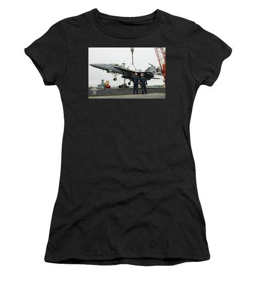 Mcdonnell Douglas F/a-18 Hornet Women's T-Shirt