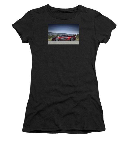 Mclaren P1 Women's T-Shirt (Athletic Fit)