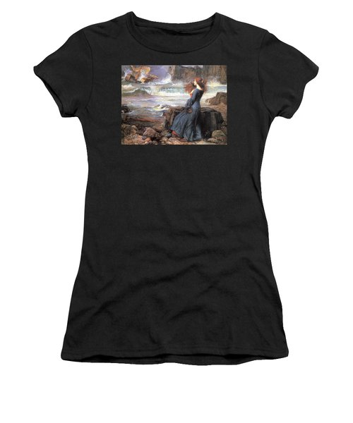 Miranda - The Tempest Women's T-Shirt (Athletic Fit)