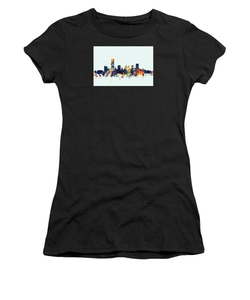 Oklahoma City Skyline Women's T-Shirt (Athletic Fit)