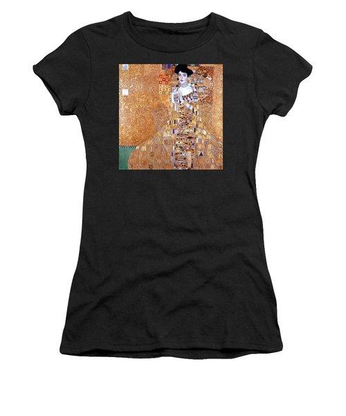 Portrait Of Adele Bloch-bauer I Women's T-Shirt (Athletic Fit)