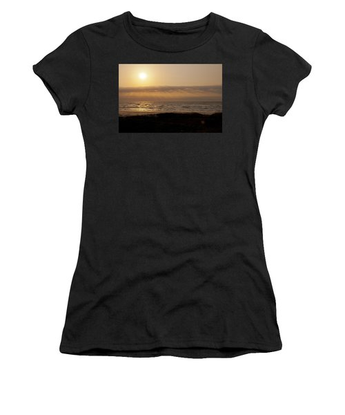 Sunrise At Beach Women's T-Shirt