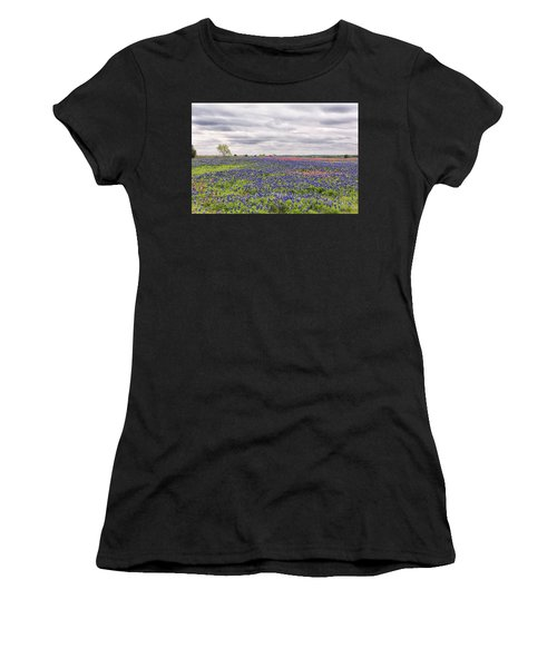 Texas Wildflowers 2 Women's T-Shirt (Athletic Fit)