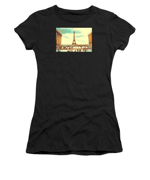 The Eiffel Tower Women's T-Shirt
