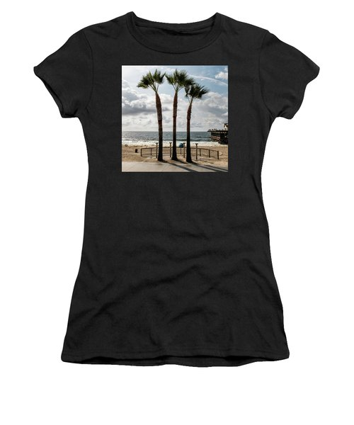 3 Trees Women's T-Shirt (Athletic Fit)