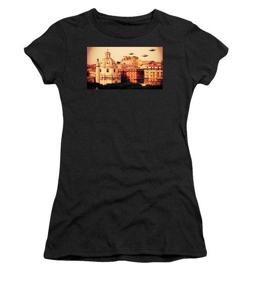 Ufo Rome Women's T-Shirt