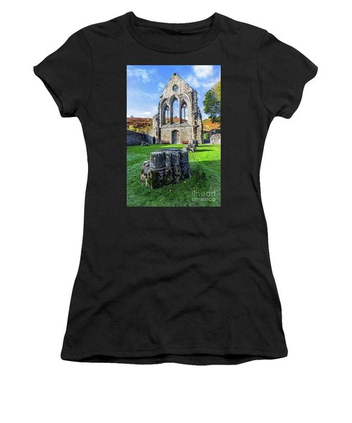 Valle Crucis Abbey Women's T-Shirt (Athletic Fit)