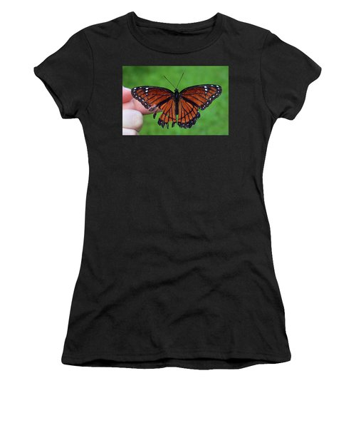 Viceroy Butterfly Women's T-Shirt (Athletic Fit)