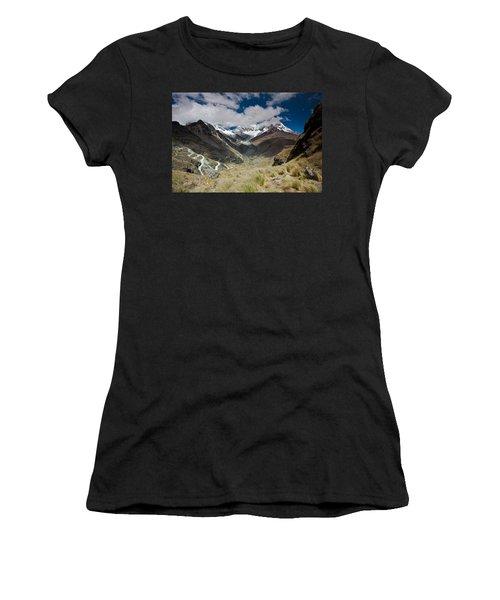 View From Portachuelo Pass Women's T-Shirt