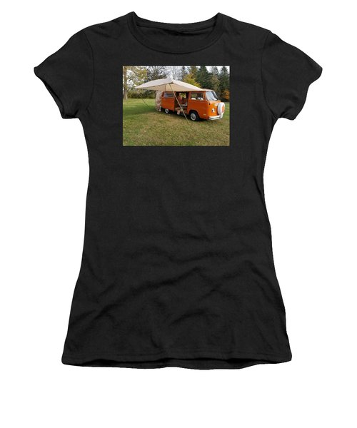 Volkswagen Bus T2 Westfalia Women's T-Shirt (Athletic Fit)