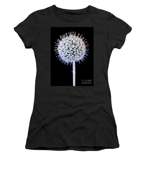 White Alium Onion Flower Women's T-Shirt