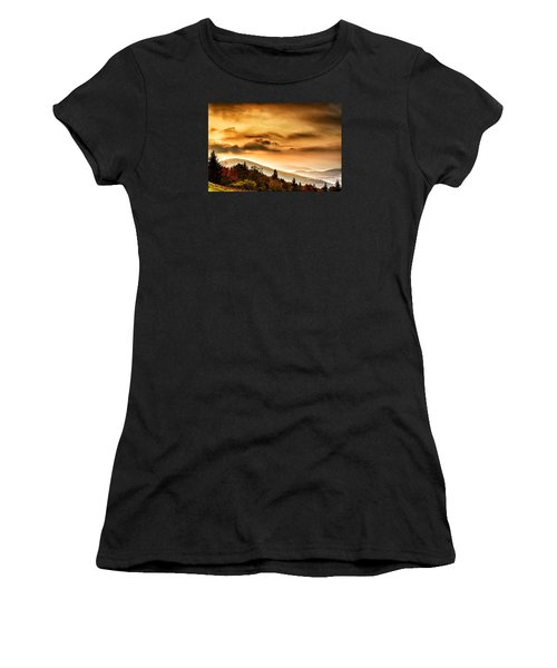 Allegheny Mountain Sunrise #33 Women's T-Shirt (Athletic Fit)