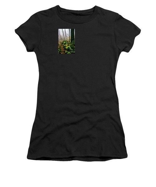 Autumn Monongahela National Forest Women's T-Shirt (Athletic Fit)