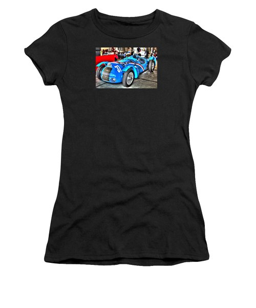 Delahaye Fast From The Front Women's T-Shirt (Athletic Fit)