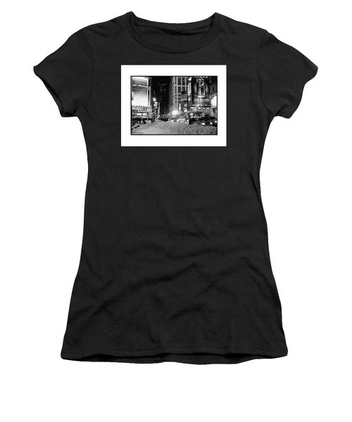 39th Ave Winter Women's T-Shirt (Athletic Fit)