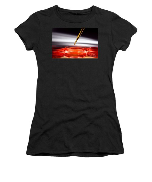 Biotechnology Experiment In Science Research Lab Women's T-Shirt