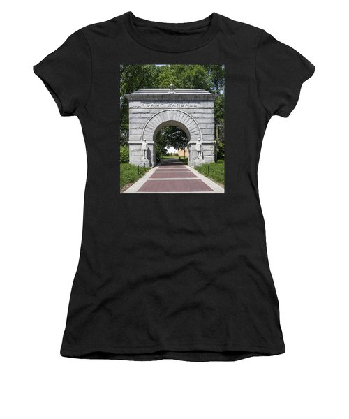 Camp Randall Memorial Arch - Madison Women's T-Shirt