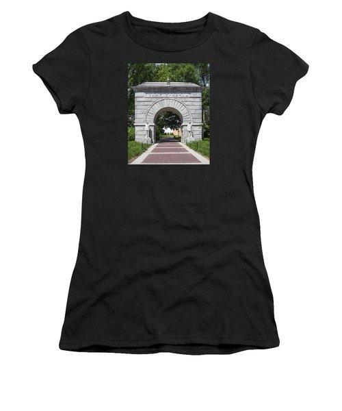 Camp Randall Memorial Arch - Madison Women's T-Shirt