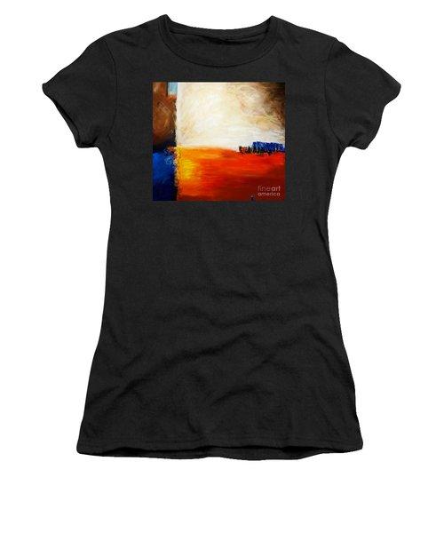 4 Corners Landscape Women's T-Shirt (Athletic Fit)