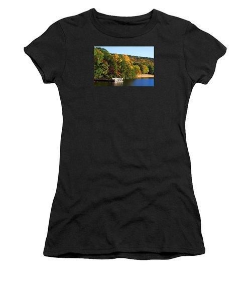 Hanging Rock Lake Women's T-Shirt (Athletic Fit)