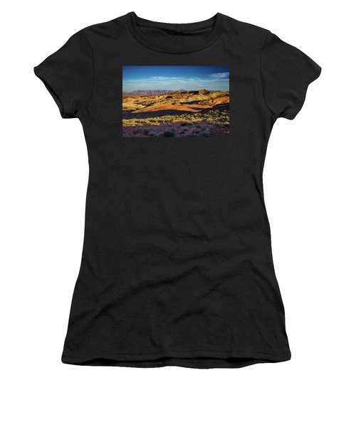 I Could Hear For Miles. Women's T-Shirt (Athletic Fit)