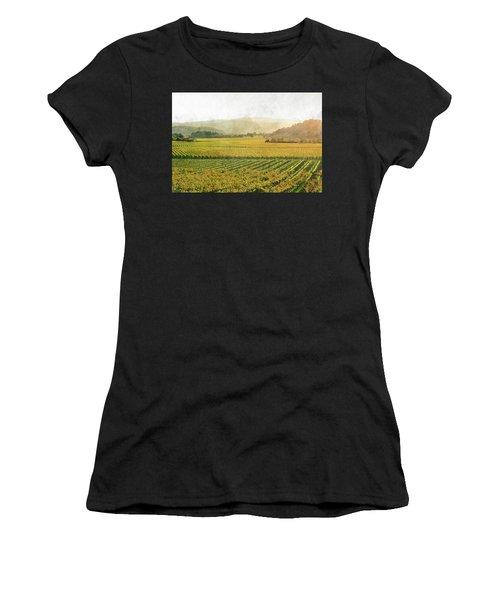 Napa Valley California In Autumn Women's T-Shirt