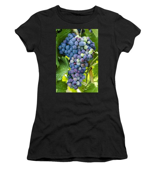 Red Wine Grapes Women's T-Shirt