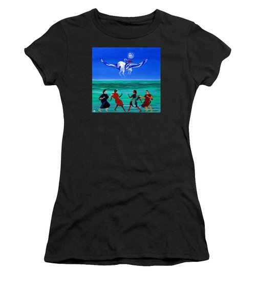 Sons Of The Sun Women's T-Shirt (Athletic Fit)