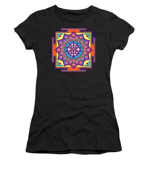 Sri Yantra Mandala Women's T-Shirt