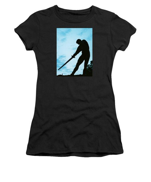 The Gladiator Women's T-Shirt (Junior Cut) by Jake Hartz