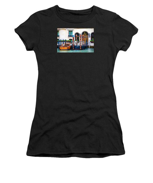 Venice Untitled Women's T-Shirt (Junior Cut) by Brian Davis
