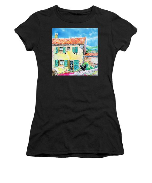 View Of Luberon Women's T-Shirt (Athletic Fit)