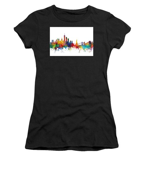 New York Skyline Women's T-Shirt