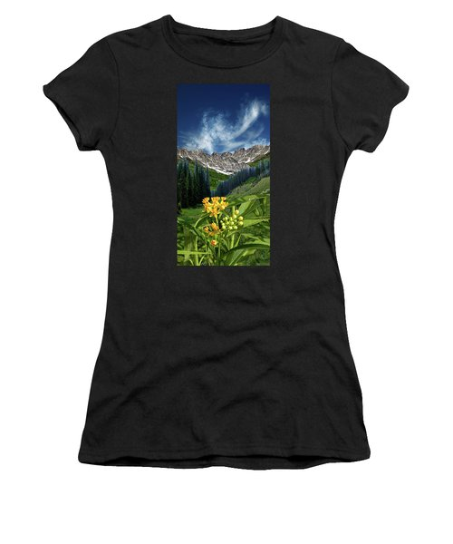 Women's T-Shirt (Junior Cut) featuring the photograph 4415 by Peter Holme III