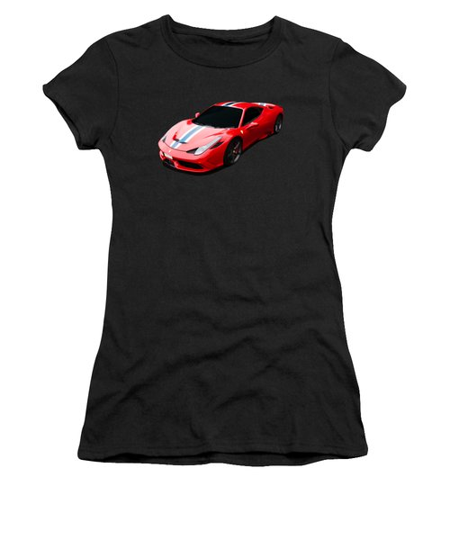 458 Speciale Women's T-Shirt (Athletic Fit)