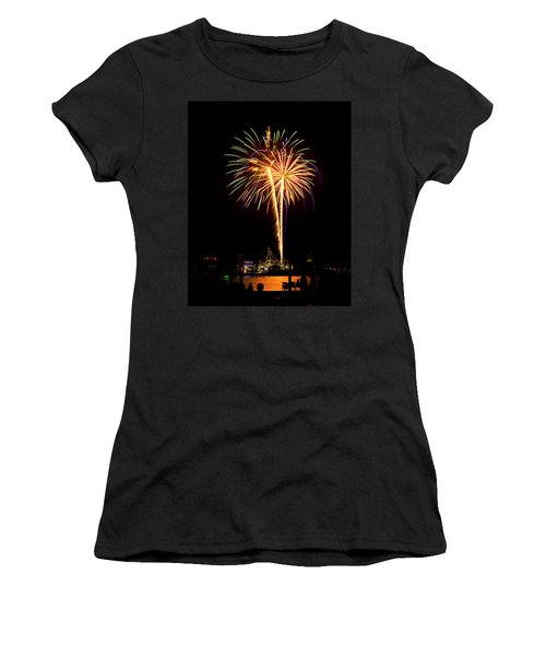 4th Of July Fireworks Women's T-Shirt (Athletic Fit)
