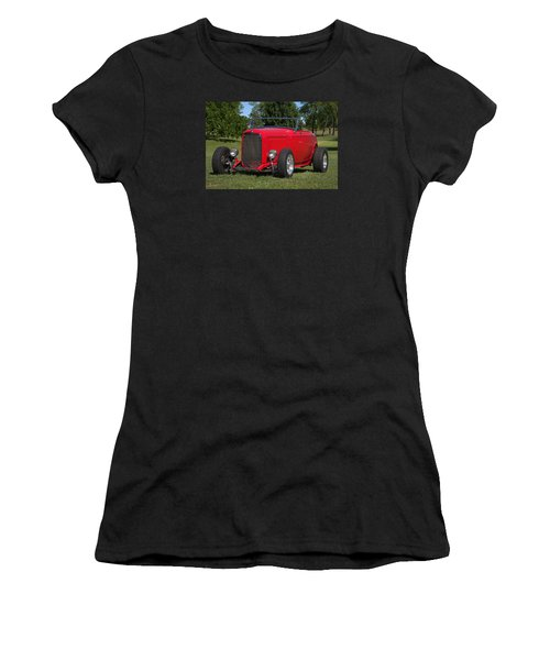 1932 Ford Roadster Hot Rod Women's T-Shirt
