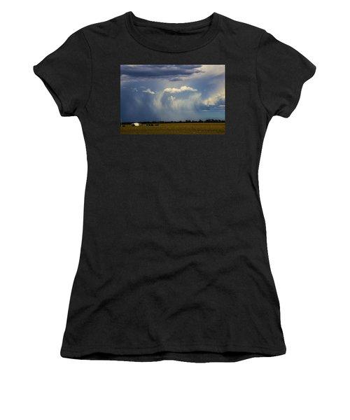 Afternoon Nebraska Thunderstorm Women's T-Shirt