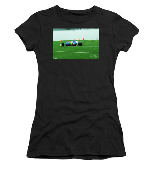 Women's T-Shirt featuring the photograph Barb And Angie by Fred Stearns