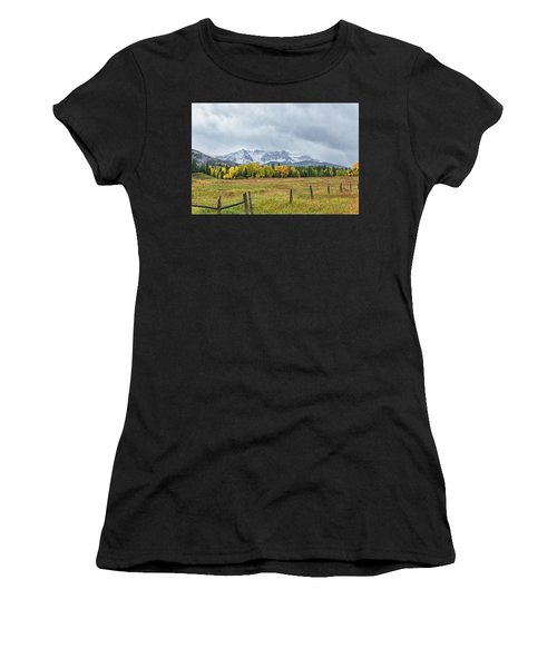 Colorado Fall Foliage Women's T-Shirt