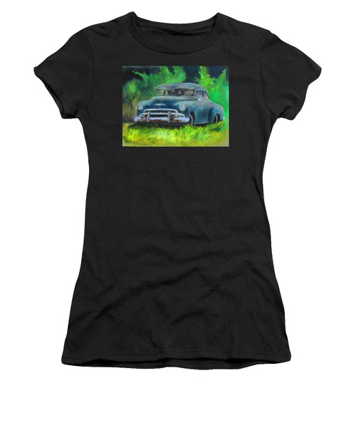 50 Chevy Women's T-Shirt (Athletic Fit)