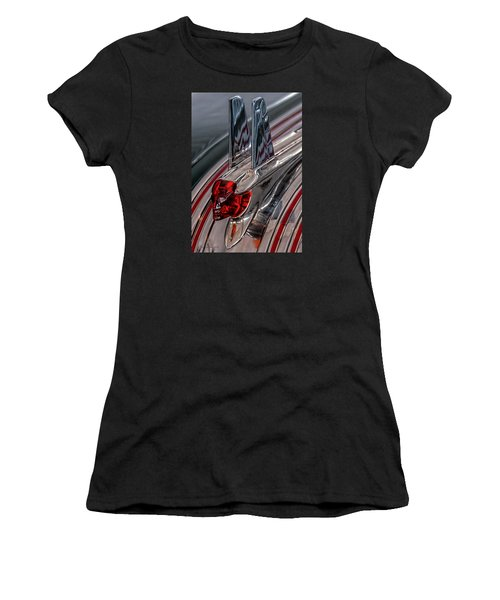 53 Pontiac Chieftan Hood Ornament Women's T-Shirt (Athletic Fit)
