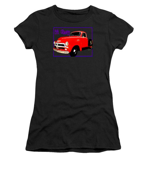 54 Chevy Pickup Acme Of An Age Women's T-Shirt