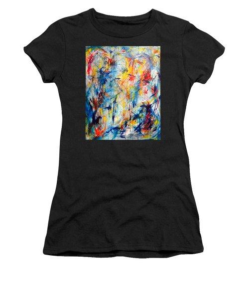 5th Chakra Meditation  Women's T-Shirt (Athletic Fit)