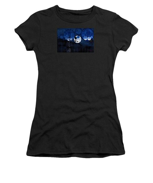 Abstract Painting - Onyx Women's T-Shirt (Athletic Fit)