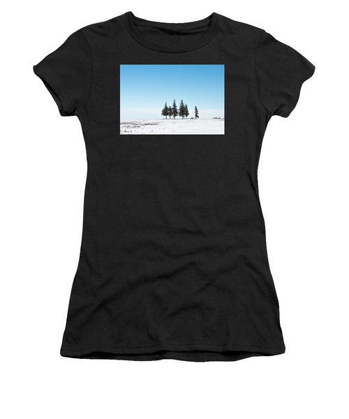 6 Pines And The Moon Women's T-Shirt