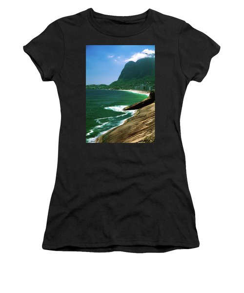 Rio De Janeiro Brazil Women's T-Shirt (Athletic Fit)