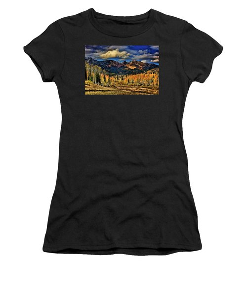 Rocky Mountain Fall Women's T-Shirt (Athletic Fit)